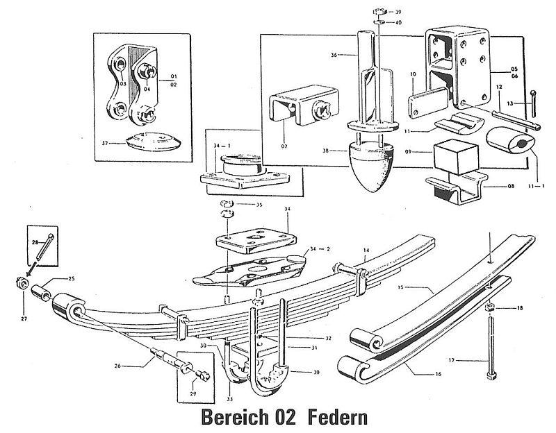 02 federn hw 80 hw 60 anh nger ersatzteile eht ersatzteil shop. Black Bedroom Furniture Sets. Home Design Ideas