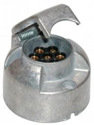 Steckdose 12V 7-polig Metall