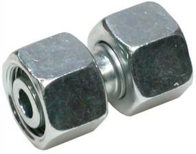 Rohrverbinder / Doppelverbinder M16x1,5 L10/L10