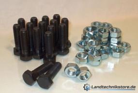 Schraubensatz Kugellenkkranz M16 x 1,5 Güte 10.9